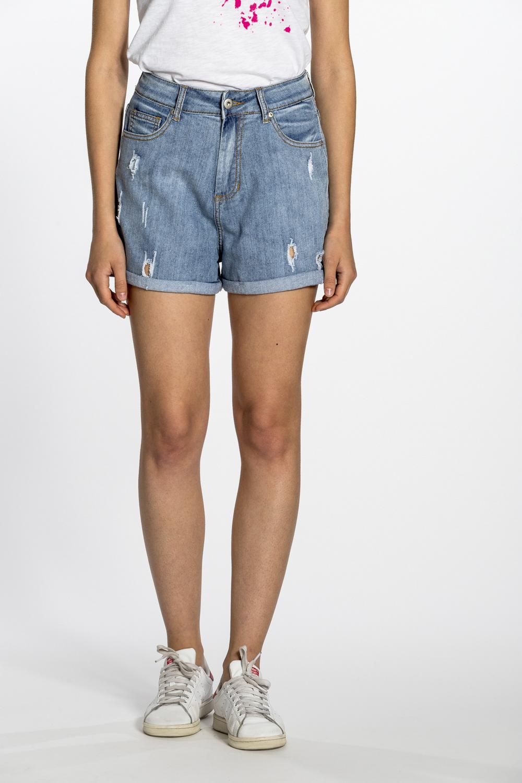 più foto 960fe 193a4 Pantaloncini jeans donna